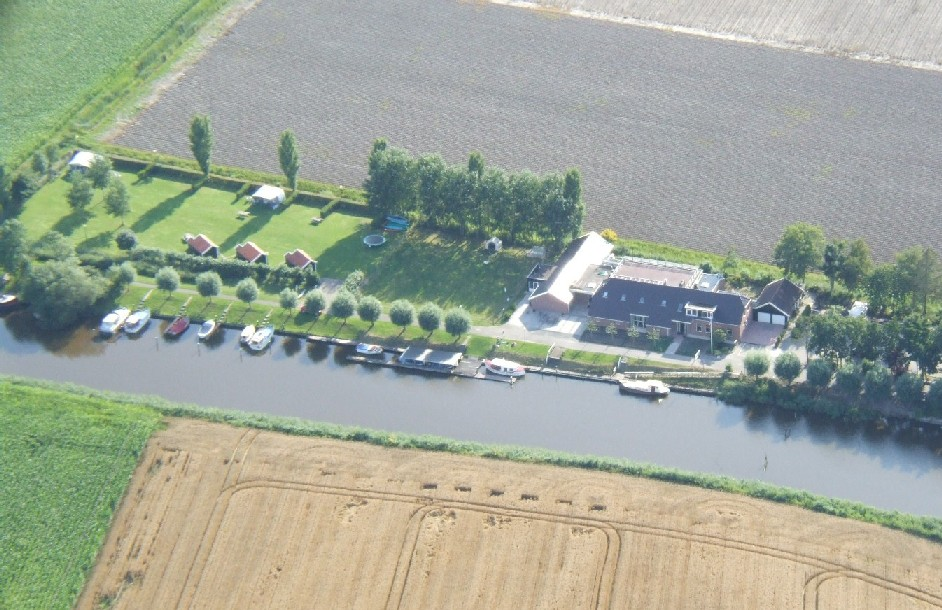 luchtfoto camping